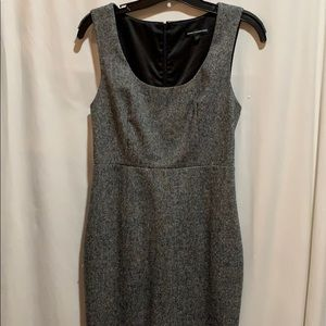Express Design Studio dress SZ 4 black and white